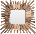 Lustro Intesi Wood Wreath